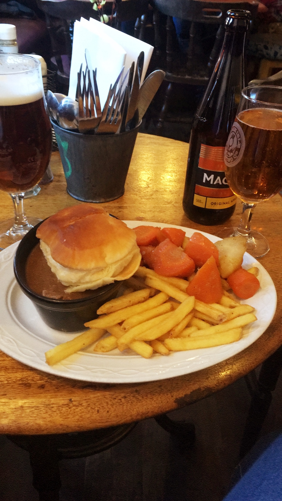 Lunch in Scotland